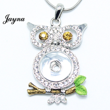 Hot Sale Snap Jewelry  Women Antique Alloy snaps buttons Pendant Necklace for ginger snaps buttons Jayna Jewelry GS1203004
