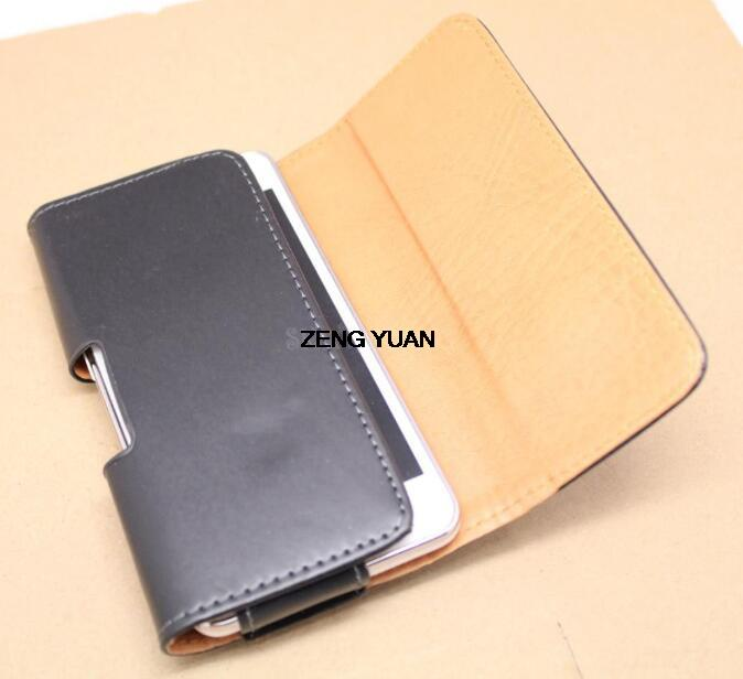 2016 Hot Sell Lichee/Smooth Pattern Leather Pouch Belt Clip Bag for Alcatel One Touch Fierce 2 Phone Cases Cell Phone Accessory(China (Mainland))