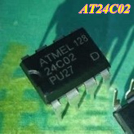 Free Shipping 200pcs/lot AT24C02 24C02 ATMEL DIP-8 IC(China (Mainland))