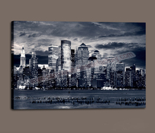 Wholesale Modern Wall Painting Print Art Decor Canvas of New York City Buildings for Home Decoration Large Canvas Art Cheap(China (Mainland))