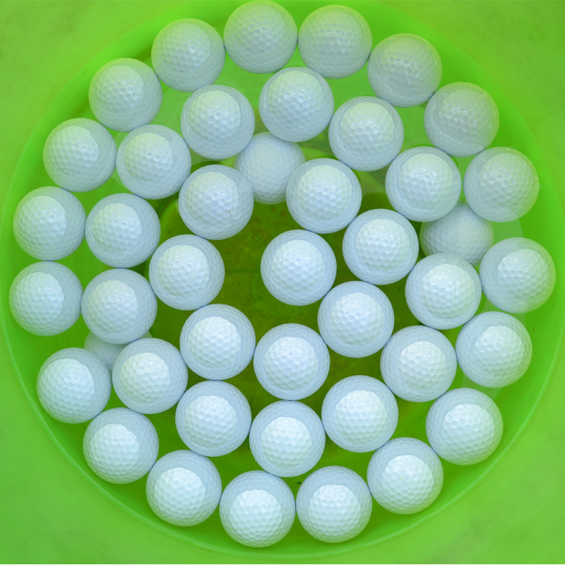 Free Shipping 2PCS Two Layers Training Golf Game Ball High-Grade Wholesale Direct Manufacturer Promotion Floating Golf Balls(China (Mainland))