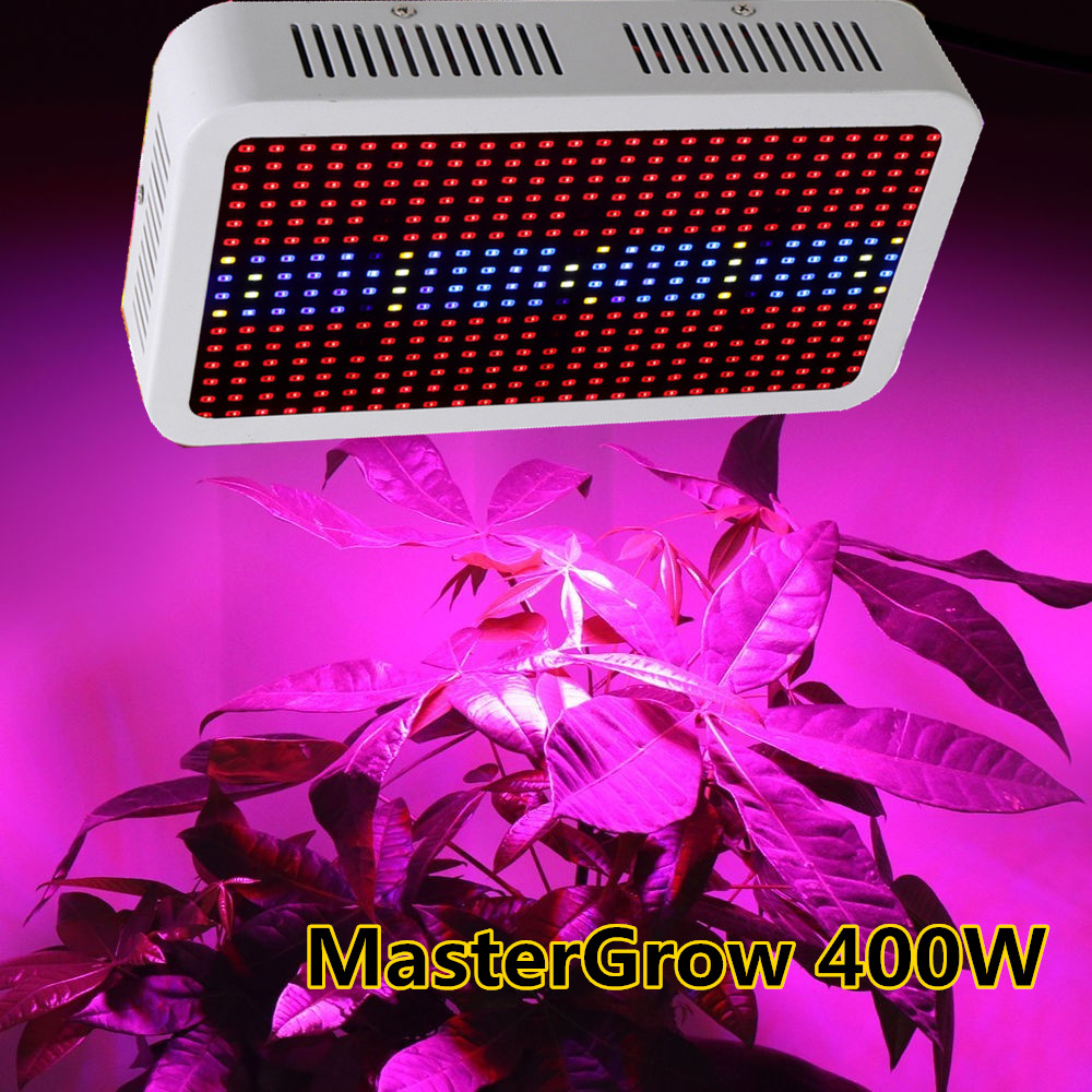 Master Full Spectrum 400W LED Grow Light Red/Blue/White/UV/IR AC85~265V SMD 5730 Led Plant Lamps Best For Growing and Flowering(China (Mainland))