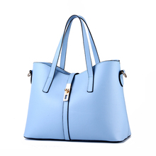 2016 New large capacity women bag simple shoulder messenger bags female handbags KLY8886bag