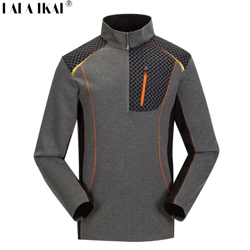 Outdoor Sport Tshirt Quick Dry Breathable Men Camping Hiking T-Shirts Coolmax Brand Long Sleeve Running T Shirts Men HMD0187-2<br><br>Aliexpress