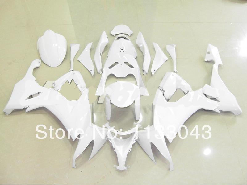 white Fairing kits FOR KAWASAKI NINJA ZX10R 08-09 ZX 10R 08 09 ZX-10R 2008 2009 fairing set #xr6x6S +7gifts - DAKE store