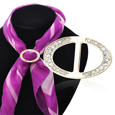 New fashion High quality elegant crystal wedding brooch brooch chain.scarves buckle scarf for women and girl(China (Mainland))