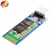 Official DOIT HC06 HC-06 Wireless Serial 4 Pin Bluetooth RF Transceiver Module RS232 TTL for Arduino Bluetooth Module(China (Mainland))