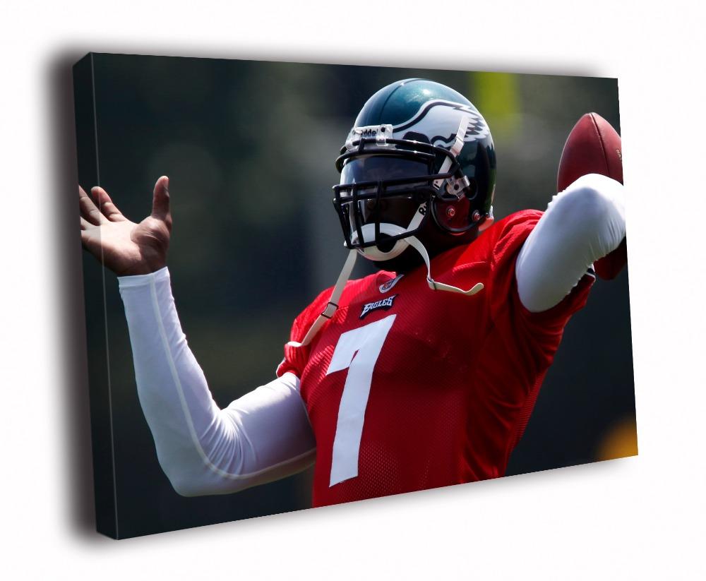 Michael Vick Philadelphia Eagles NFL Sport Solid Wood Canvas Frameless Paints TXHOME D6970(China (Mainland))