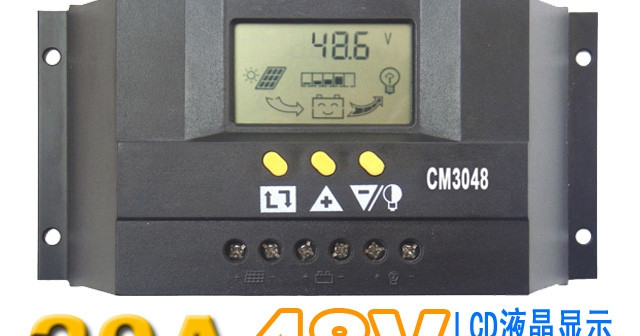 The solar cell module charge controller 20A 48V Home Controller D Display<br><br>Aliexpress