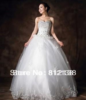 2013 New arrival  2013 Korean version luxury diamond wedding dress Bra straps wedding dress princess bride , HS-C103