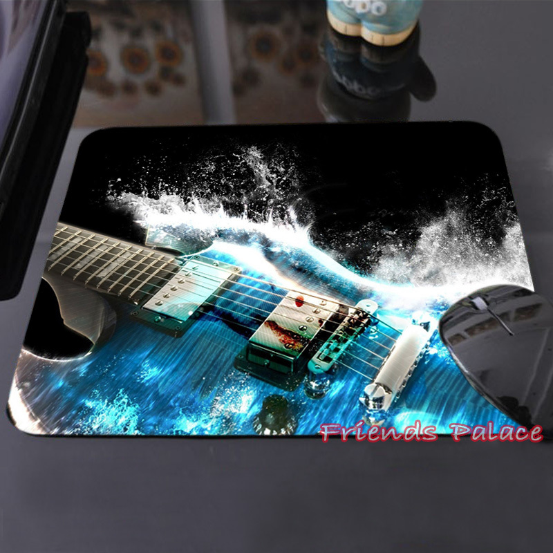 2015 New Arrival Customized Mouse Pad Water Guitar Fantasy Artwork Fashion Computer Notebook Durable Non-slip Mice Mat Pad(China (Mainland))