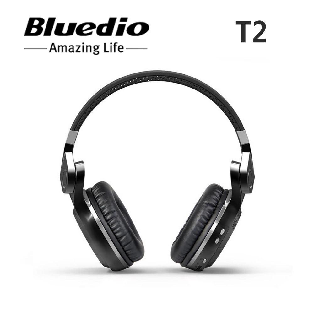 [Véritable] Mode Bluedio T2 Turbo Sans Fil Bluetooth 4.1 Stéréo Casque antibruit Casque avec Mic(China (Mainland))