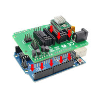 Ciclop 3d scanner DIY accessories UNO R3 Board controller with USB cable+ZUM Scan Expansion board + A4988 Stepper Motor Driver