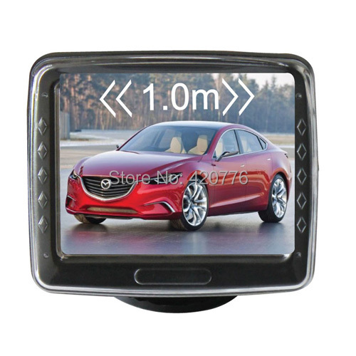 Car park sensor lcd display 3.5 inch(China (Mainland))