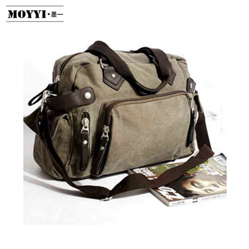 Free Shipping new style canvas bag boys large capacity laptop shopping high quality travel shoulder Messenger ba(China (Mainland))