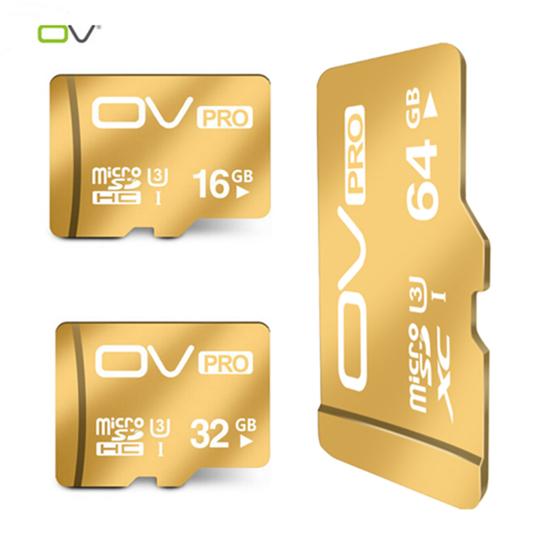 OV Micro SD Cards SDHC SDXC UHS-I U3 16GB 32GB 64GB Memory Cards Class10 TF Microsd Card For Cellphone Tablet Camera(China (Mainland))