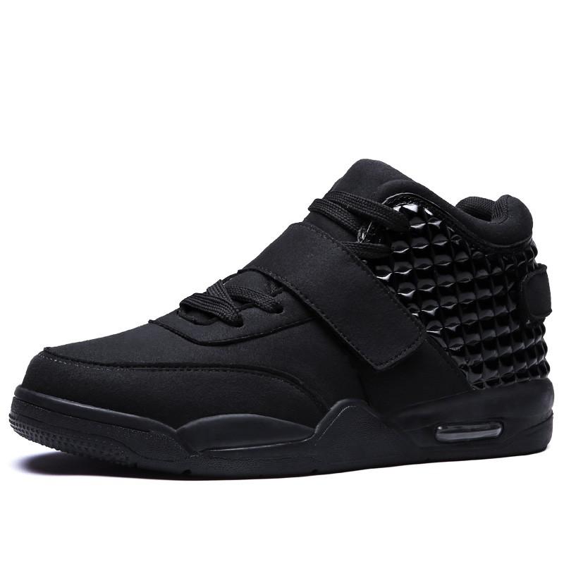 Respirant Basketball Chaussures Hommes confortable Haute-Top Baskets … 4LAtL7