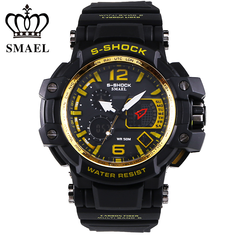 2016 newest listing fashion watches men watch waterproof sport military G style S Shock watches men's luxury brand(China (Mainland))