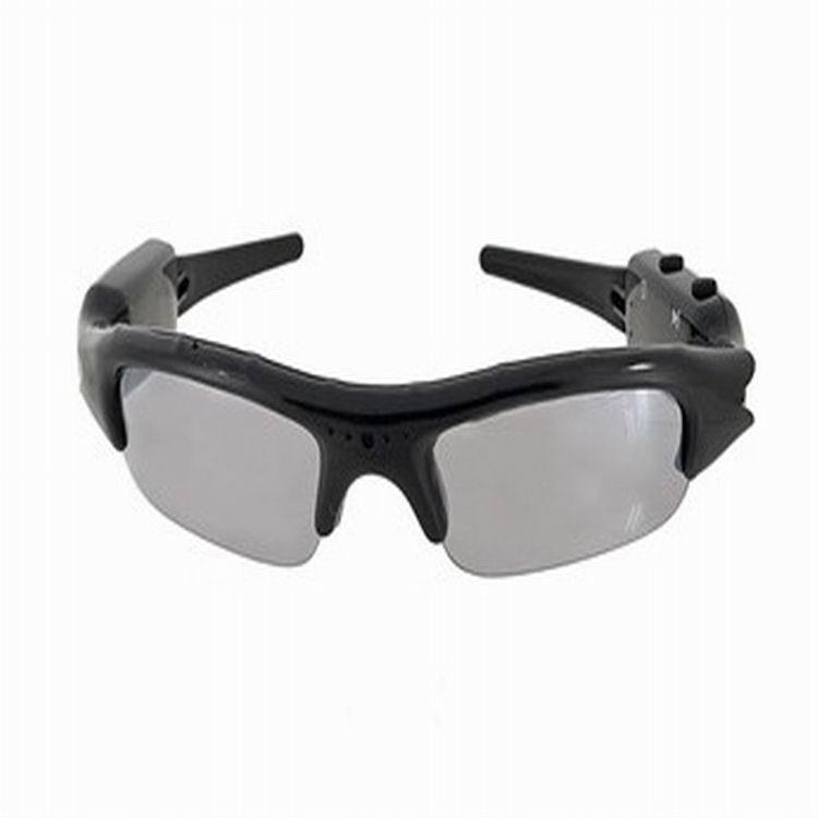 2015 NEW Quality Mini DV DVR SPY Sunglasses Camera Recorder Outdoor Sports Sunglasses 720P HD Black without power(China (Mainland))