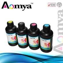 Aomya 5x250ml BK/C/M/Y  UV INK / LED UV INK /  for Epson DX5 DX6 DX7 Printer Head