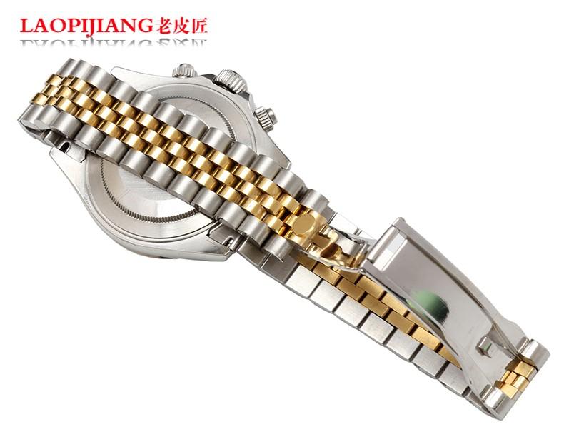 Прочной нержавеющей стали с 20 мм адаптер типа журнала часы аксессуары