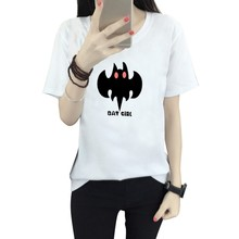 Buy Summer Naughty Bat Cirl T Shirt Women Lovely Cartoon Shirt Short Sleeve Comfortable Brand Casual Tee Shirts Tops Hot Sale for $3.35 in AliExpress store