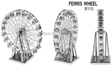 Buy Miniature Ferris Wheel 3D Metal Model Puzzle Toys Gift 3D Model Building Kits Puzzle 1:87+ Scale 3D Solid Jigsaw Puzzle for $3.55 in AliExpress store