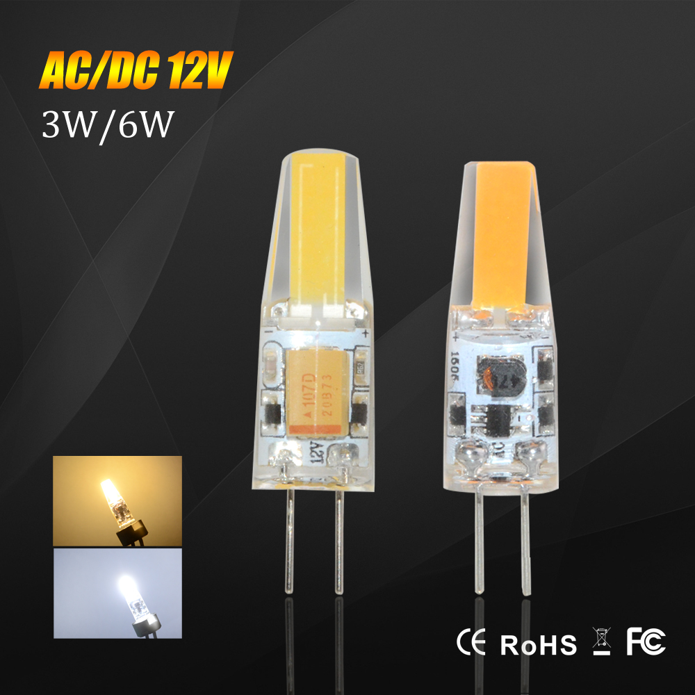 Mini LED Lamp G4 COB 12V COB Light 3W 6W Real Power Dimmable LED Lamps Replace Halogen Chandalier Lighting(China (Mainland))