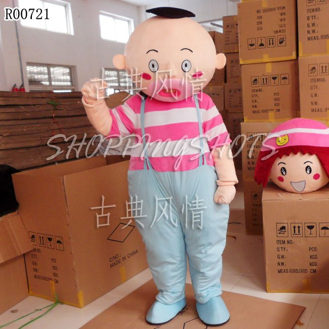 Dawdler lounger quittor adult one size MASCOT COSTUME R00720 Fancy Dress Cartoon(China (Mainland))