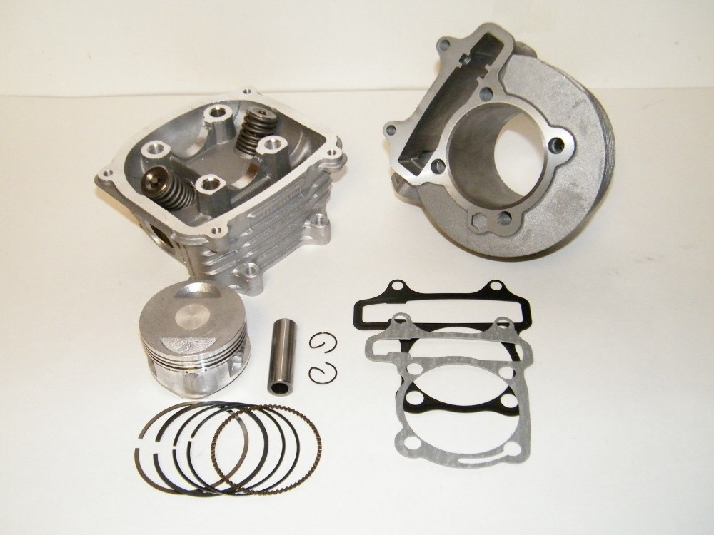 Scooter 125cc 52.4mm GY6 Engine Rebuild Kit Cylinder Kit Cylinder Head Chinese Scooter(China (Mainland))