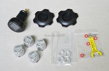 Mejores ventas TP200 4 Sensor externo TPMS inalámbrica Tire Pressure Monitoring System para todos los coches envío gratis