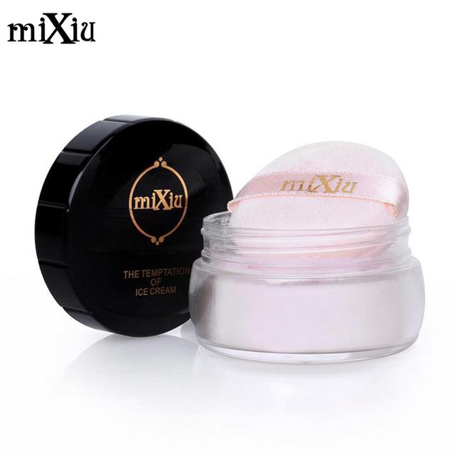 Порошок mIXIU полупрозрачные чистый завод дряблая кожа отделка минеральная косметика ...