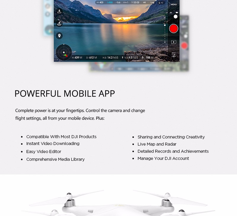 2016 Newest Version Drone DJI Phantom 3 4K Version Quadcopter FPV RC Helicopter with 4K Camera 100% Original DHL Free