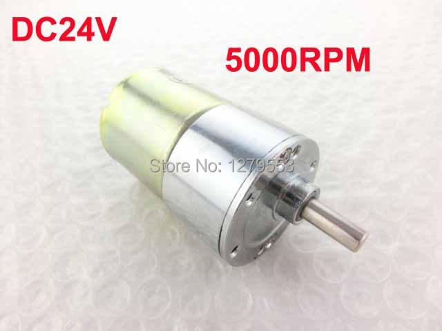 DC 24V 5000RPM Electric Tool Spare Parts Powerful Geared Box Motor(China (Mainland))