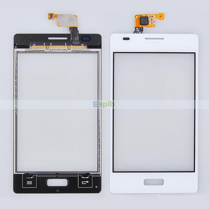 White Glass 100% Original Touch Screen Digitizer Panel Flex Cable LG Optimus L5 E610 E612 5 - ESPLB store