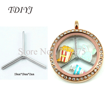 Buy TDIYJ High Silver Stainless Steel Window Plate Locket Divider fit Floating Charms Locket 10pcs/lot for $9.75 in AliExpress store