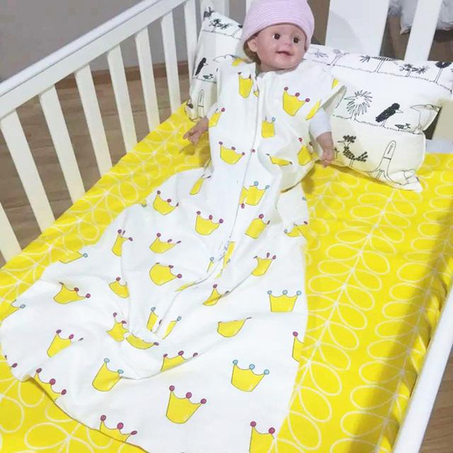 Новорожденный Спальный Мешок Ребенка Sleepsacks 2 Слоя Рукавов Сна Мешок Для Лето/Осень ...