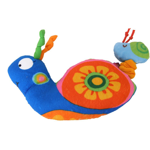 WSFS Hot Sale The snail shock puzzle hand puppet doll(China (Mainland))