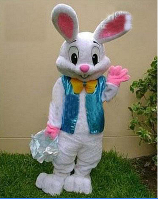 fantasia In 2015, the latest hottest Easter bunny mascot costume adult cartoon walking cosplay FAST shipping custom clothing(China (Mainland))