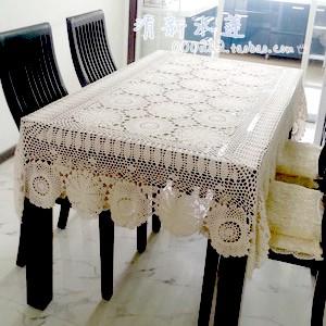 Handmade crochet hook flower decoration cloth woven hollow piano rural nostalgia table cloth.(China (Mainland))