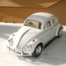 Brand New 1/32 Scale Germany 1967 Volkswagen Vw Classic Beetle Bug Diecast Metal Pull Back Car Model Toy For Gift/Children(China (Mainland))