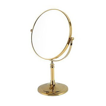 Buy 8 spinning 360 degree gold 1x3 for Gold stand up mirror