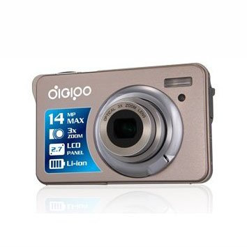 Mini Camera 2.7 Inch TFT LCD 5.0 MP CMOS MAX 14.0MP 4X Digital Zoom Anti-shake Digipo DC-K10 HD Digital Camera(China (Mainland))