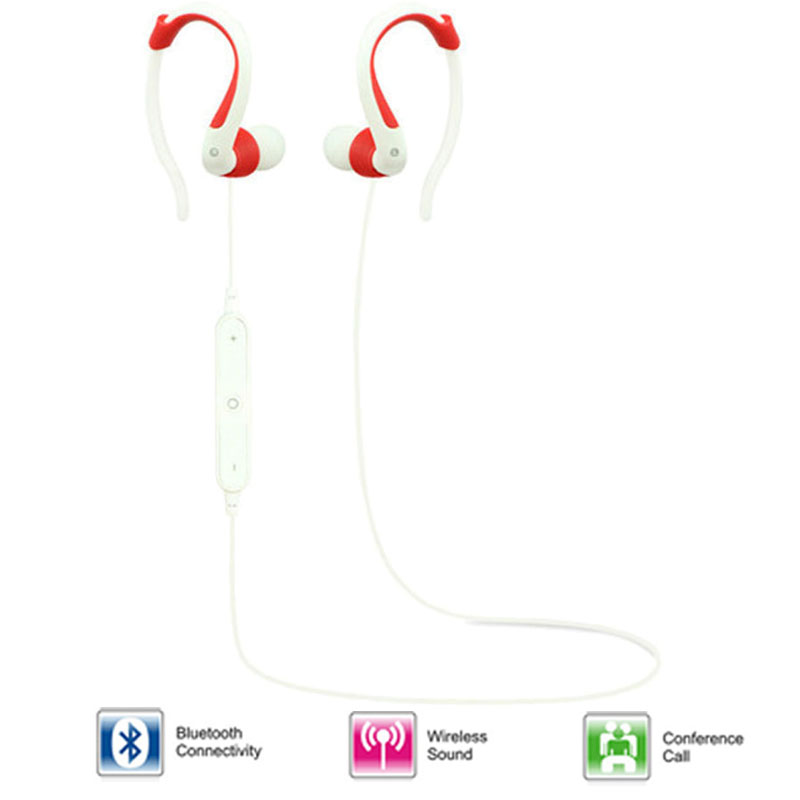Bluetooth Earphone V4.1 Wireless Earbuds In-Ear Noise Cancelling Earphones with Microphone Sweatproof Stereo Bluetooth Headset(China (Mainland))