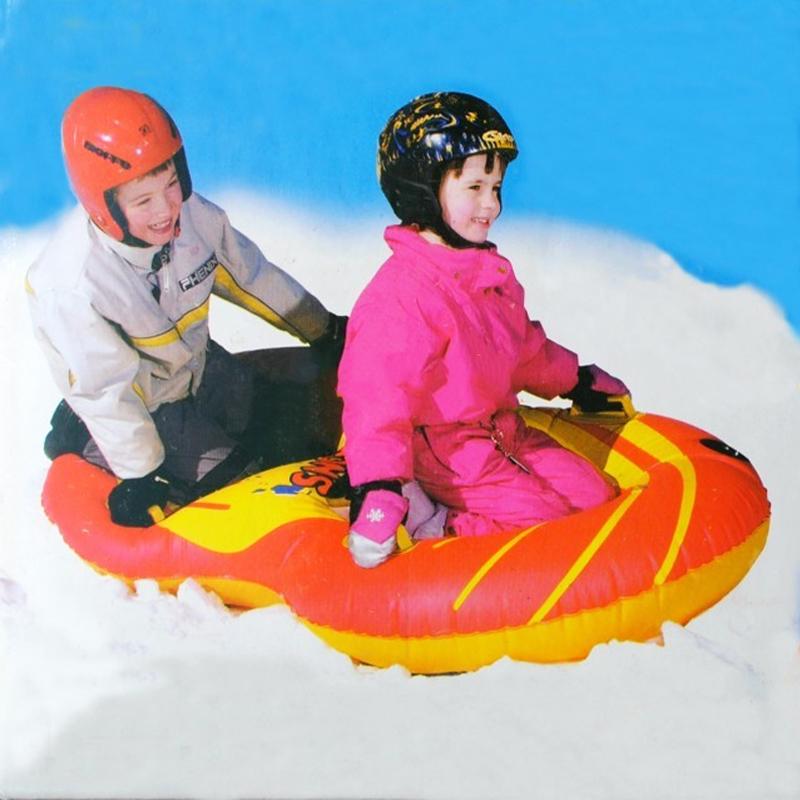 Brand Name Flexible Flyer Snow Twist Inflatble Snow Tube Sports Tube Winter Ski Circle Sledge Twist for 2 person 2015 New Style(China (Mainland))