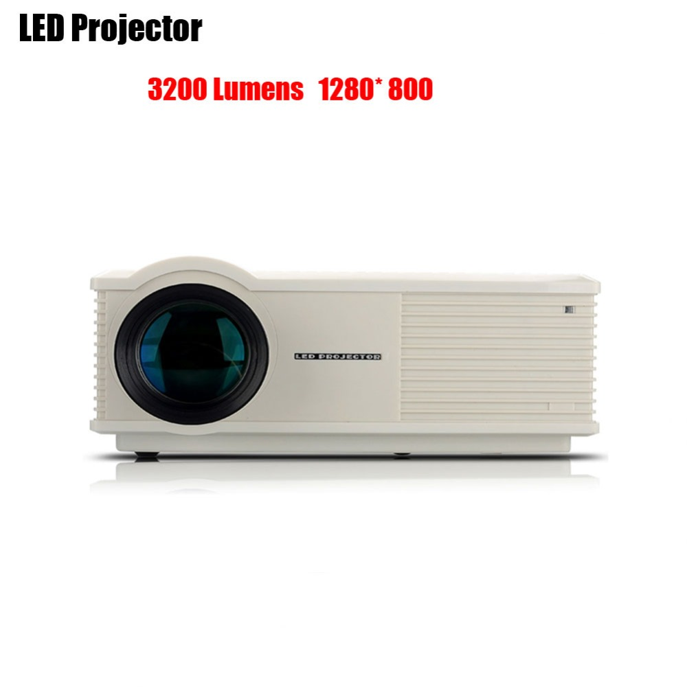 Newest GOLDFOX PH580 LCD 3200 Lumens 2000:1 Contrast LED Projector Support HDMI USB TV AV VGA Home Theater Video Proyectors<br><br>Aliexpress