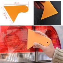 1PCS Mini Auto Car Vehicle Snow Ice Shovel Scraper Removal Clean Tool Car decoration stick Protective film free shipping(China (Mainland))