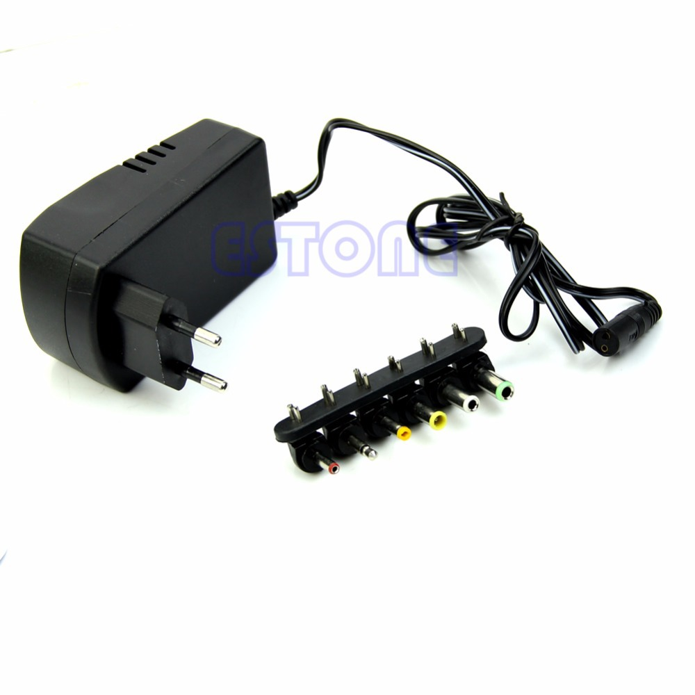 Universal EU AC/DC Adaptor Plug Power Supply 3V 4.5V 5V 6V 7.5V 12V DC Charger(China (Mainland))