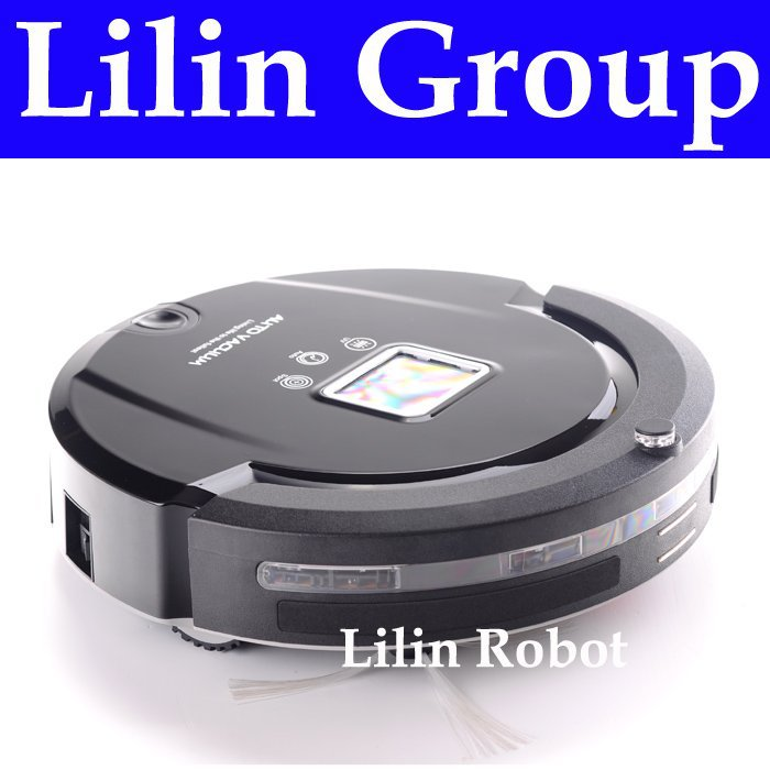 (Free to Singapore) 4 In 1 Multifunction Robot Vacuum Cleaner (Sweep,Vacuum,Mop,Sterilize),LCD,Touch Button,Schedule,Auto Charge(China (Mainland))