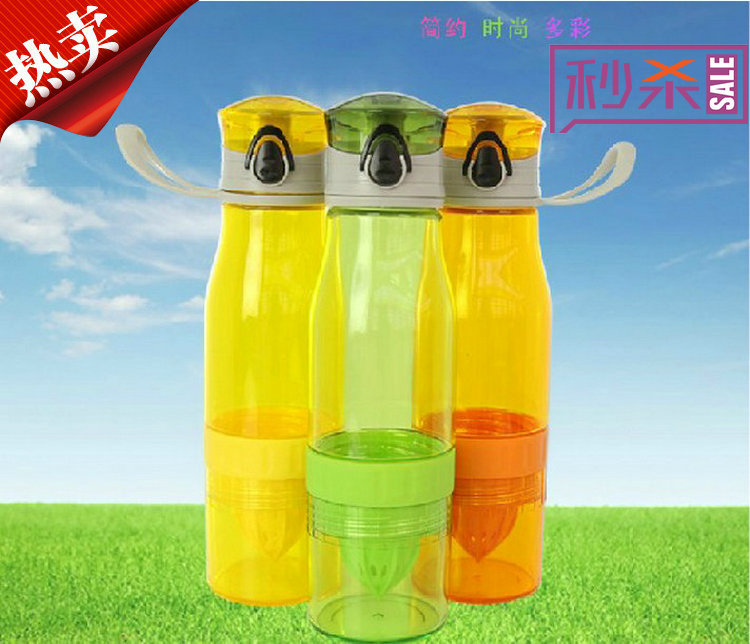 Love children treasure tea with lemon juice trip fashion manual cup fresh juice cups children kettle magic leakproof cup(China (Mainland))